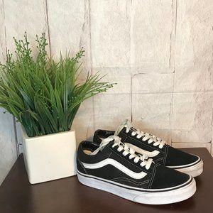 VANS | Womens Size 5.5 | Black Old Skool Sneakers